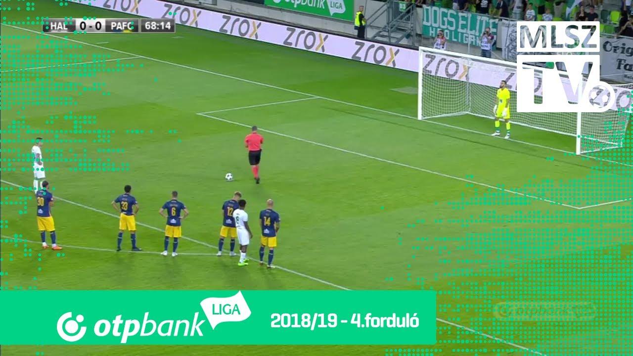 Szombathelyi Haladás - Puskás Akadémia FC | 2-1 (0-0) | OTP Bank Liga | 4. forduló | 2018/2019