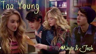Maya & Josh - Too young | Girl Meets World