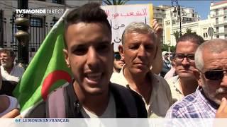 Algérie : manifestation des étudiants contre le chef de l'armée Ahmed Gaid Salah - 3 septembre 2019
