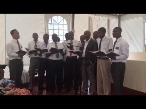 Elders in Kitengela Branch. LDS Hymn #319 Ye Elders of Israel