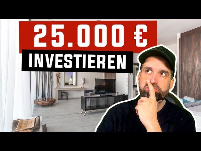 Wie ich 25.000€ in 2021 investieren werde