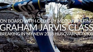 Graham Jarvis Class On My New 2018 Husqvarna TX300