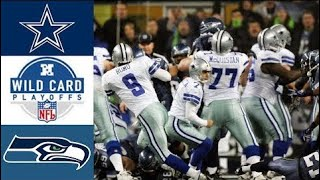 Cowboys vs Seahawks 2006 NFC Wild Card