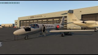 Taking out the Private Jet to practice | Citation 550 | Vatsim