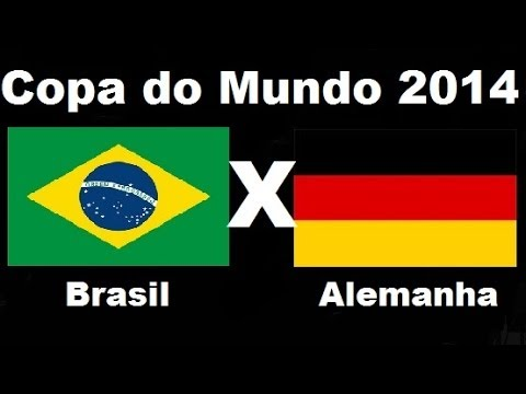 Brasil 1 x 7 Alemanha -Humilhante Semifinal - Copa do Mundo 2014 - Jogo  Completo Audio TV Globo - YouTube dbb0196a7cd11