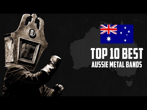 Top 10 Best Aussie Metal Bands Mp3
