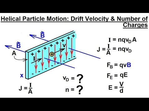 Physics - E&M: Magn Field Effects on Moving Charge & Currents (22 of 26) The Hall Effect