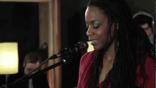 "Wordsmith Akua Naru gives us an exclusive live performance of ""Poet..."