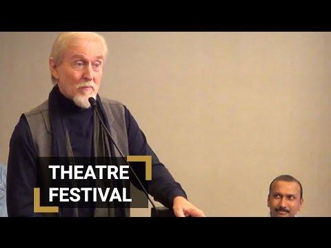 Actor Tom Alter address at Qader Ali baig theatre festival