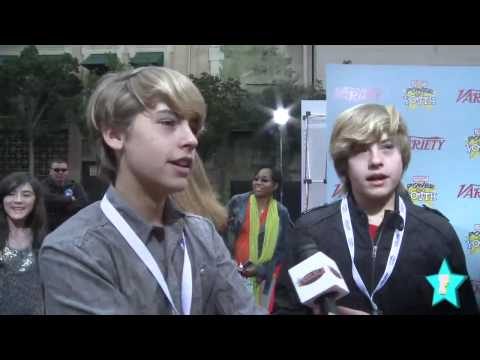 Sprouse Twins On Valentine's Day & Their First Kisses!