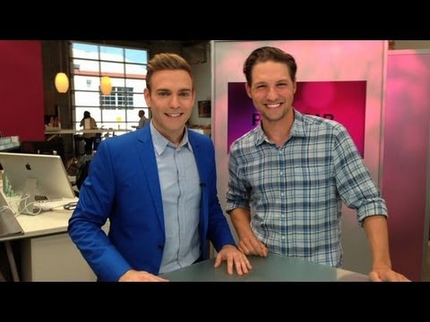 Michael Cassidy Talks About The O.C. Reunion on the TBS Show Men at Work!
