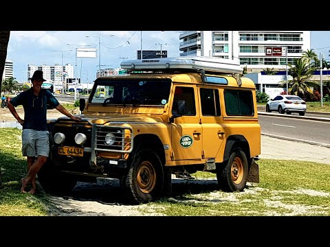 Cartagena  Colombia Our Last City On The Continent: Land Rover Defender 300tdi.