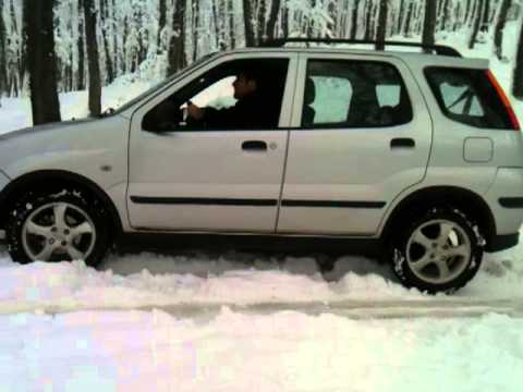 suzuki ignis 1 5 4x4 snow test youtube. Black Bedroom Furniture Sets. Home Design Ideas