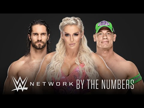 WWE Network 5-year birthday celebration by the numbers