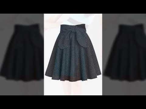 a6fc4d92a Faldas para jovenes modelos de ultima moda oufis 2018 - YouTube