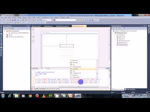 How to Bind a Property to UI Element in WPF- Simple Binding Part2