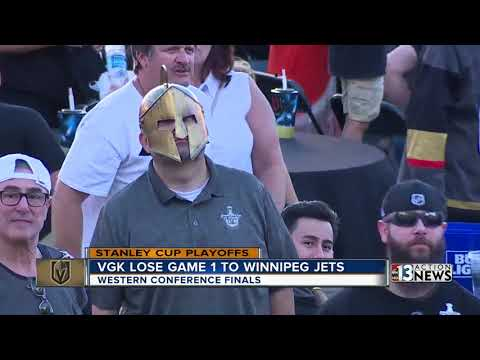 Golden Knights lose Game 1 of Western Conference FInals