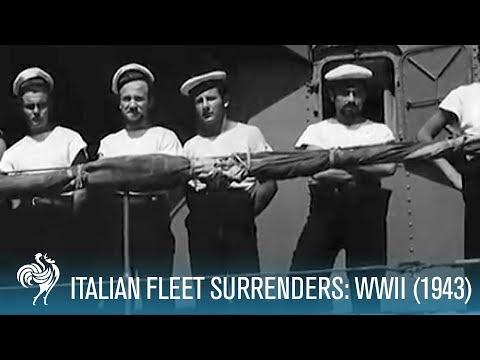 Italian Fleet Surrenders (1943)
