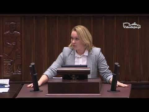 Andżelika Możdżanowska  – wystąpienie z 11 stycznia 2018 r.