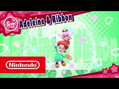 Dlc De Kirby Star Allies Adeleine Ribbon Nintendo
