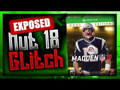 MADDEN 18 DISCONNECT GLITCH EXPOSED GETTING FREE WINS IN WEEKEND LEAGUE