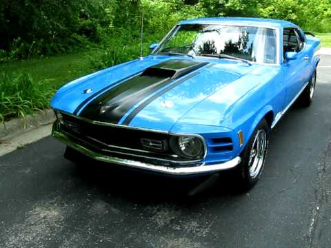 1970 Grabber Blue Mach 1 Mustang 1 From Kc Classic Cars
