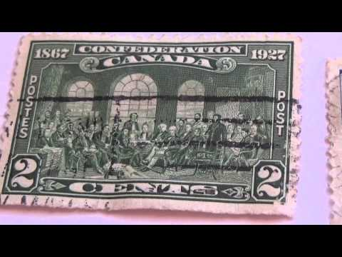 Rare Canadian Postage Stamps Video