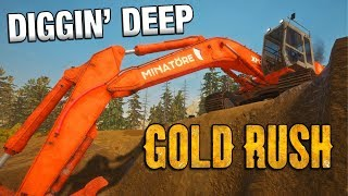 Now everything is setup, let's start gold mining! Gold Rush: The Ga...