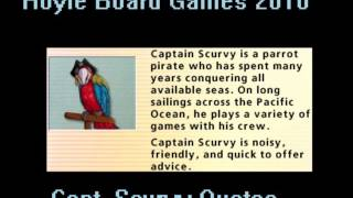 Hoyle Board Games 2010 - Capt. Scurvy Quotes