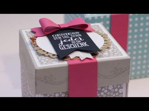 Explosionsbox ~ Stampin' Up!