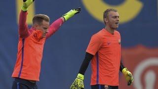 Ter stegen & cilessen - amazing saves by best goalkeepers