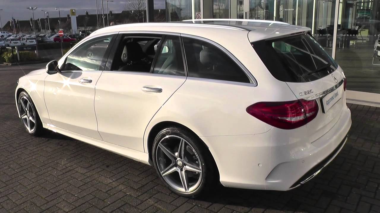 mercedes benz c class estate 205 c220 bluetec amg line estate u25950 youtube. Black Bedroom Furniture Sets. Home Design Ideas