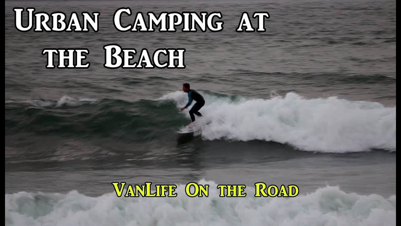 urban-camping-on-the-coast-vanlife-on-the-road