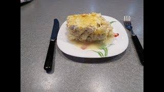 Рецепт Запеканки из цветной капусты с куриным филе - видео-рецепт ПП запеканки на ужин