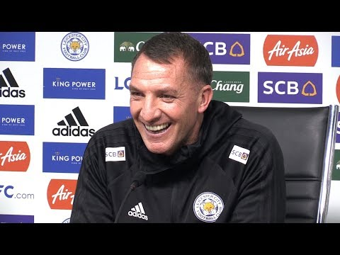 Brendan Rodgers First Full Press Conference As He's Unveiled As Leicester Manager