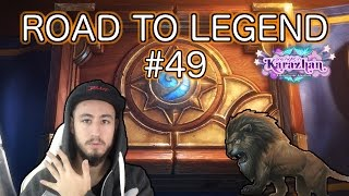 RACHE AM KRIEGER | Road to Legend #49 [Hearthstone Deutsch]