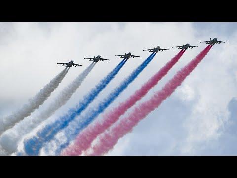 Авиационная часть Парада Победы в Москве