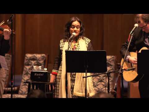 Carnatic Raaga meets Hebrew: Deepti Navaratna sings D'ror Yikra: Jewish prayer