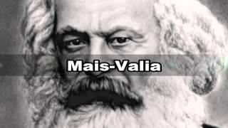 Vídeo sobre 2 conceitos de Karl Marx, Alienação e Mais-Valia
