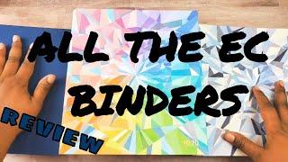 Erin Condren Binder Comparison   ALL THE ERIN CONDREN BINDERS