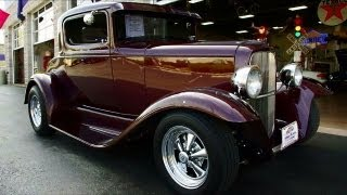 1932 Ford Street Rod 302 V8 Five-Speed Three-window Coupe