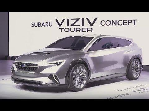 Subaru Viziv Tourer Concept Official Youtube