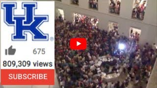 UK Student Flash Mob - College Library Prank