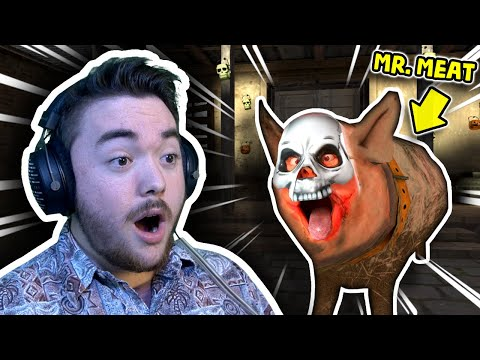 Mr. Meat Turned INTO HIS PIG!!! | Mr. Meat Mobile Horror Gameplay