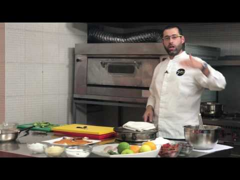 "Chef Youssef Akiki in the Kitchen; for ""Tripoli Rising Chef"""
