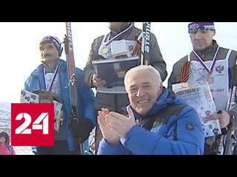 """В Магадане прошла гонка """"Лыжня России"""""""