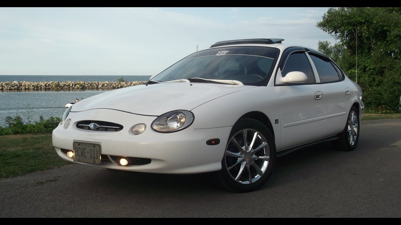1999 Ford Taurus With 18 Inch Chrome Wheels Youtube