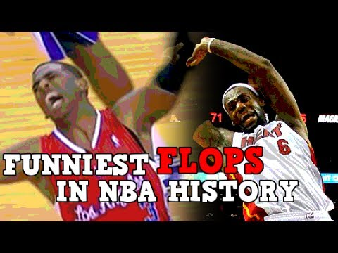 The 10 FUNNIEST Flops in NBA History