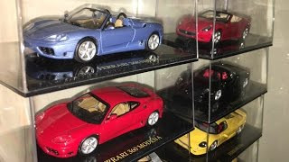 my 1/43 Ferrari collection