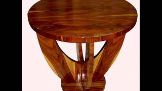 French Art Deco Coffee Table Tables Accent Tables End Tables
